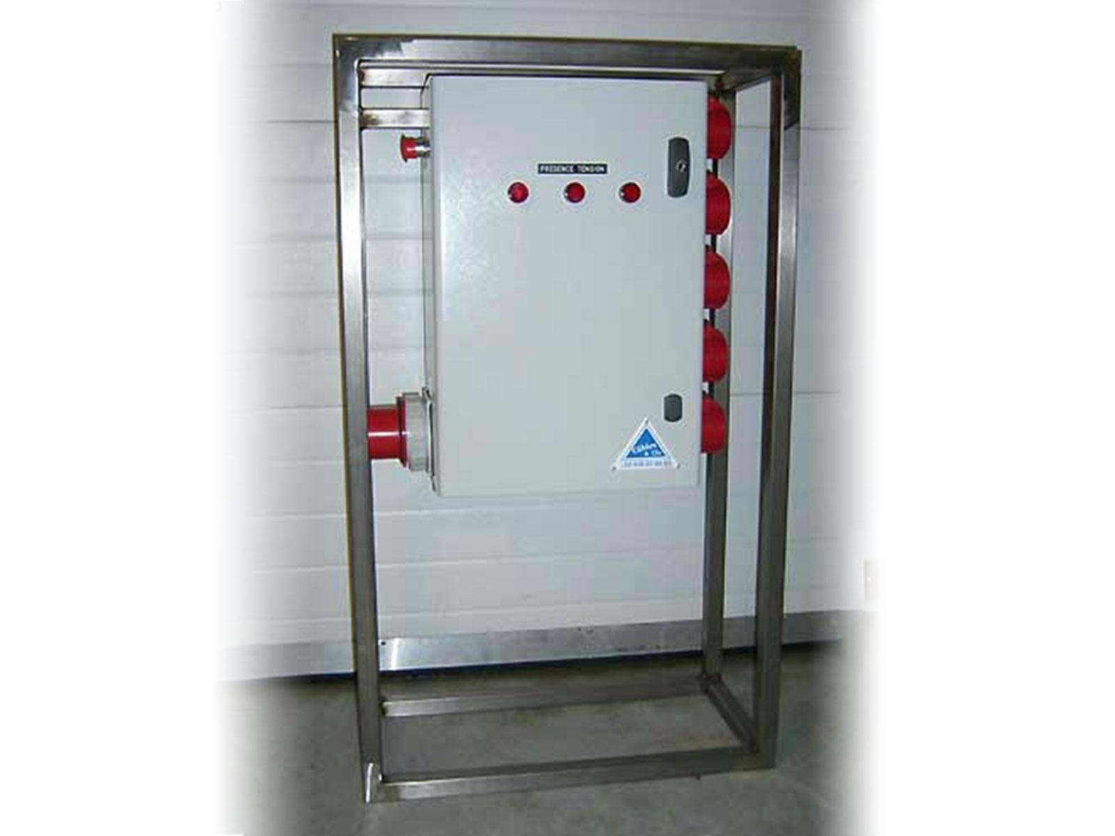 Armoire électrique 125A