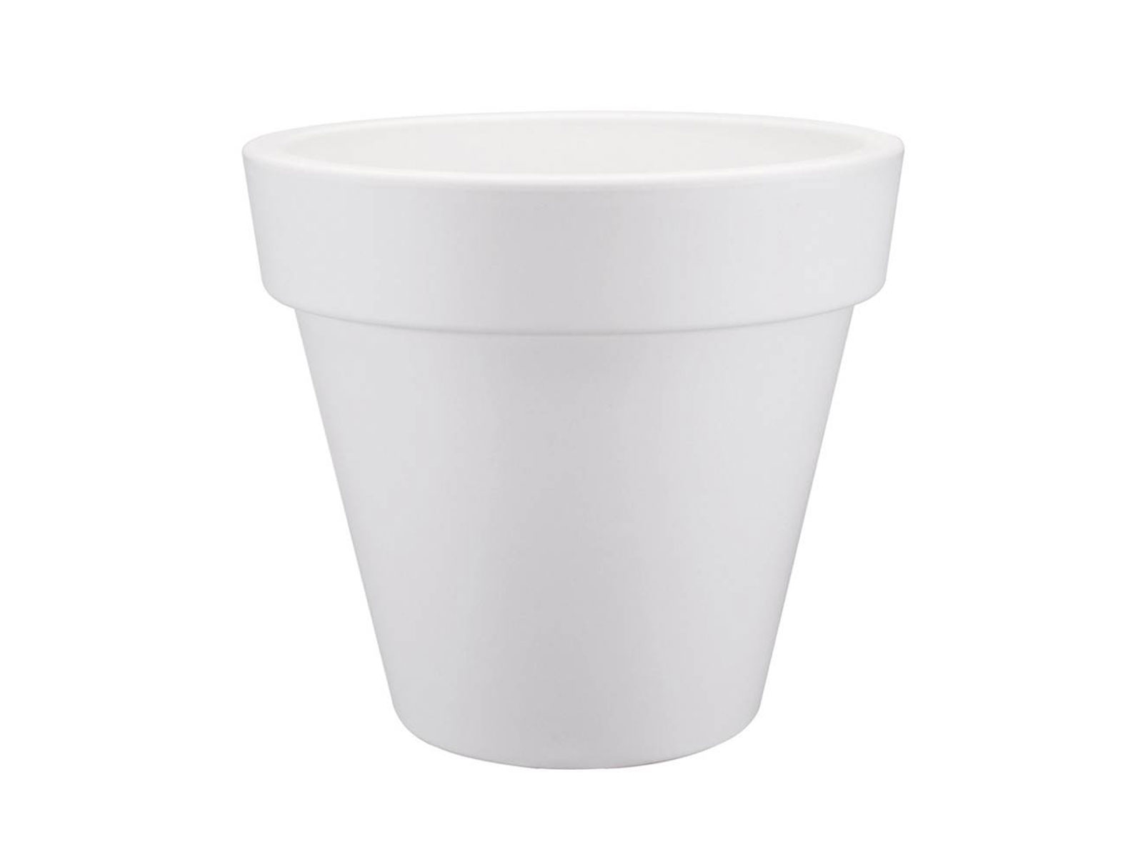 Cache-pot blanc