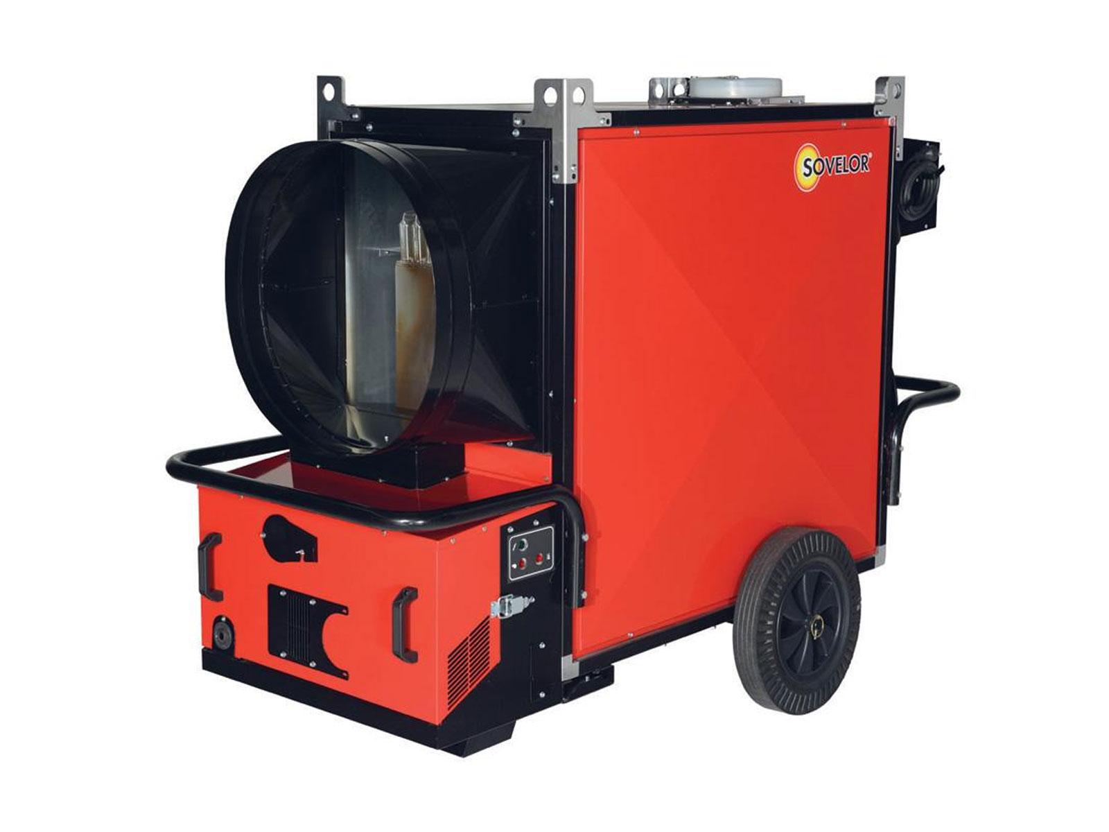 Chauffage mobile fioul 190 kW