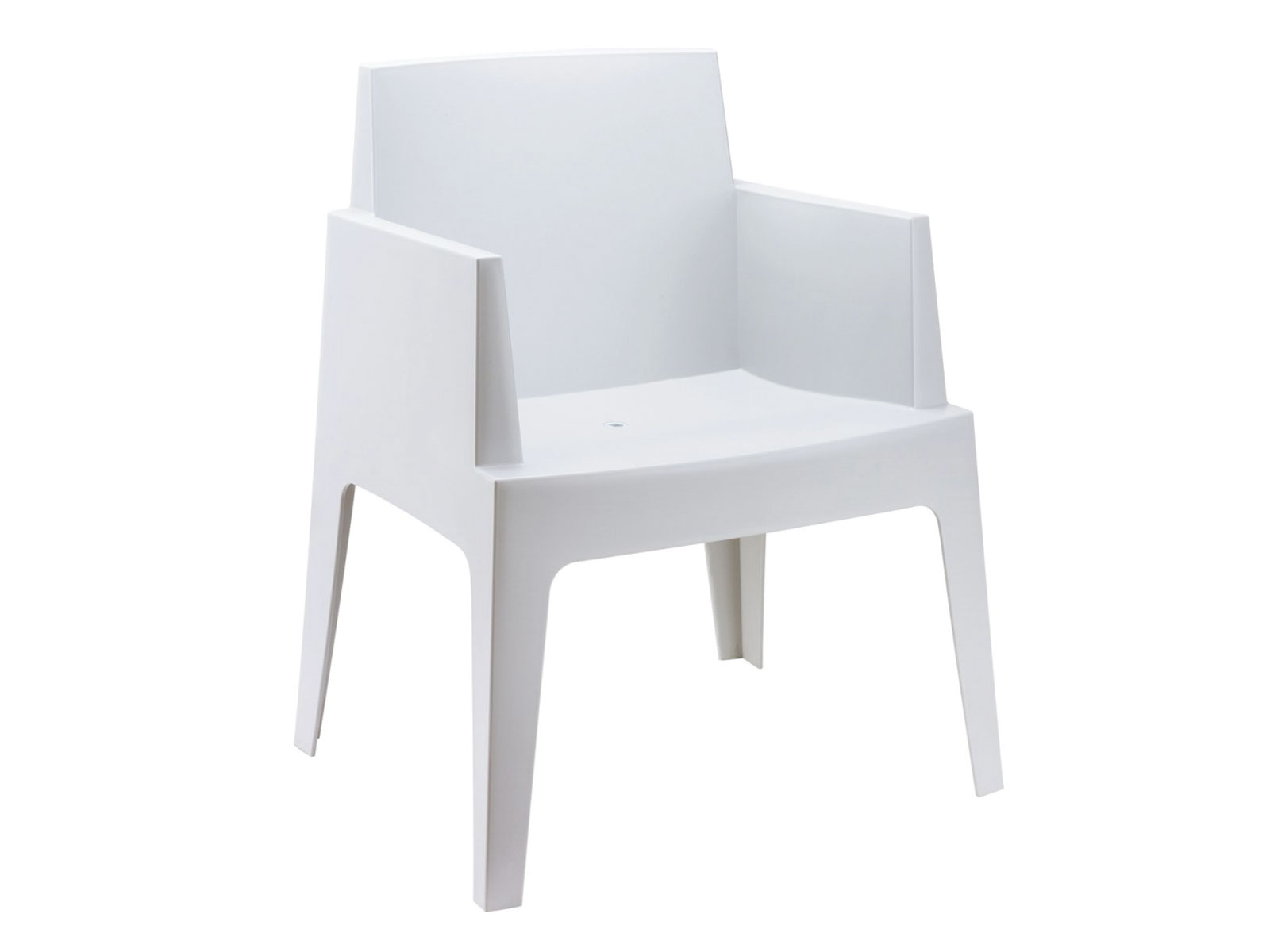 Fauteuil Box blanc