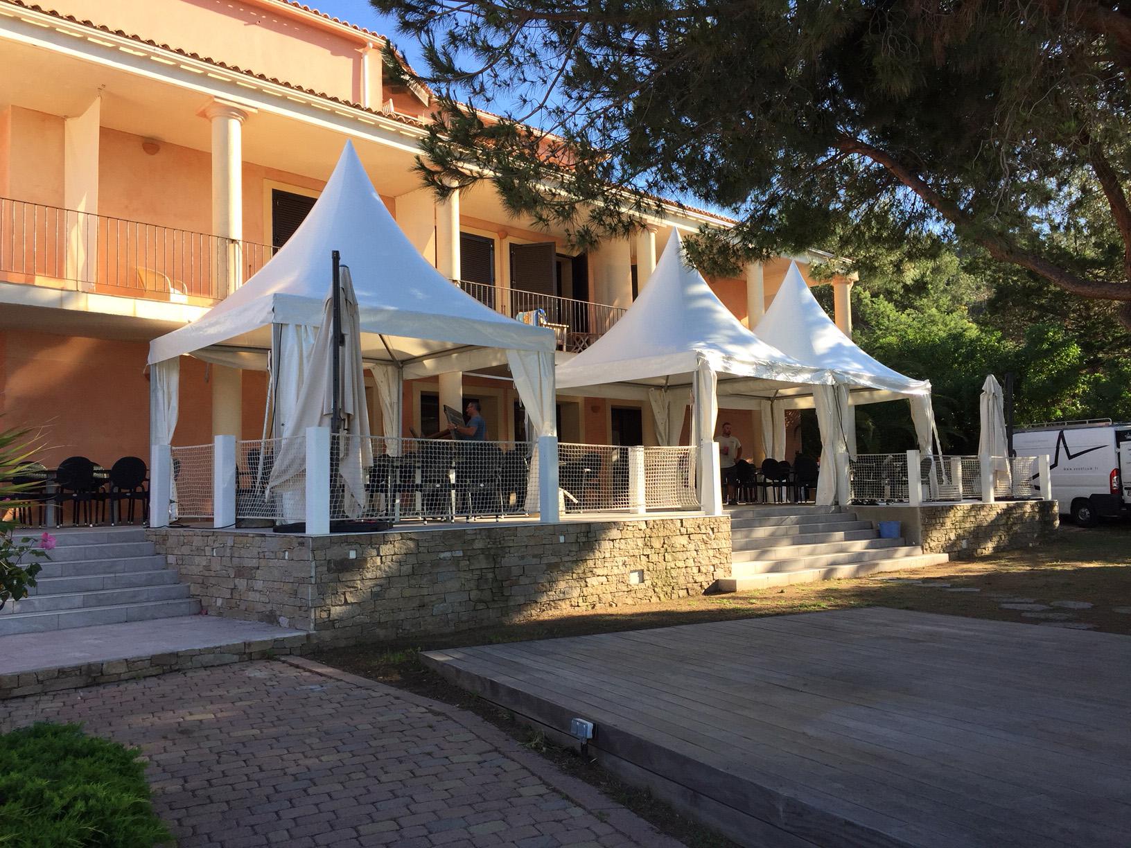 Tente Garden 4x4 m