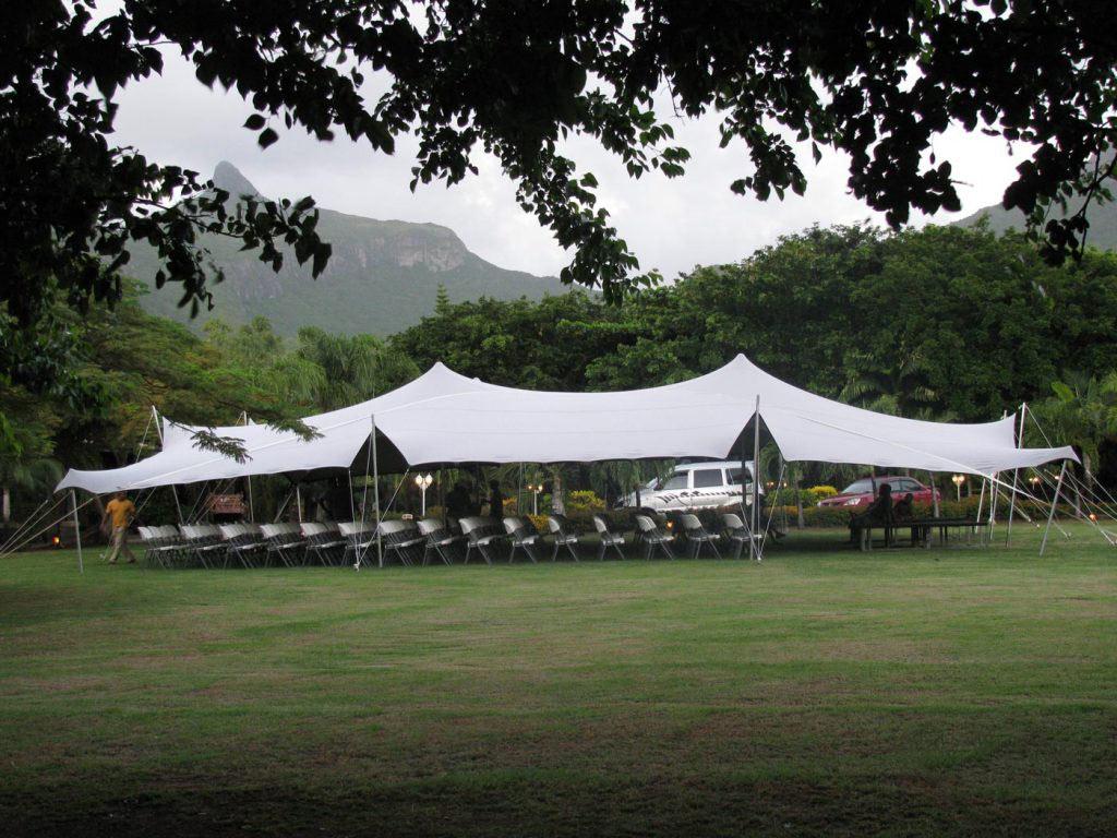 Tente Stretch 15x21 m
